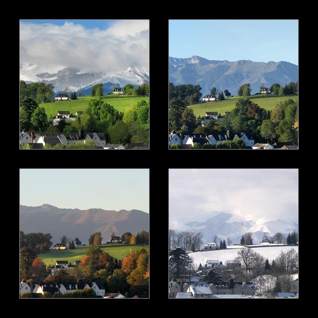 Photographies b arn 4 saisons nay et la plaine for Le jardin des 4 saisons pusignan